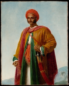 "Study for ""Portrait of an Indian"""