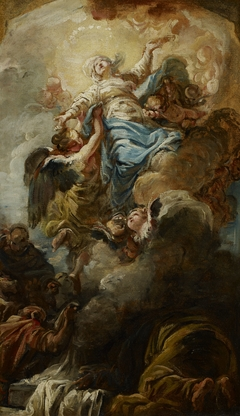 Study for the Assumption of the Virgin