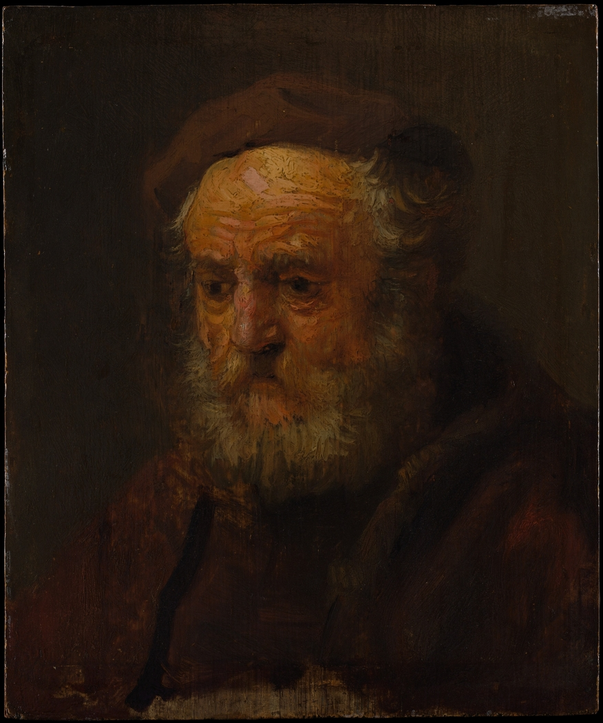 Study Head of an Old Man
