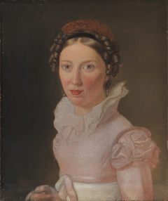 Suzanne Juel. The Artist's Sister-in-Law and later to Become his Third Wife