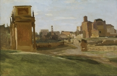 The Arch of Constantine and the Forum