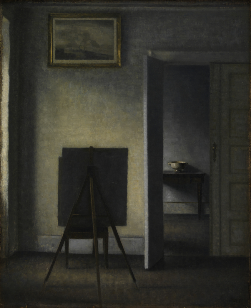 Interior with the Artist's Easel