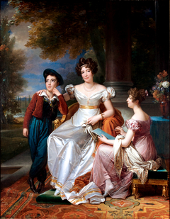 The comtesse du Cayla and her two children