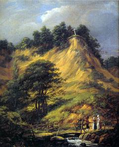 The Cross on Moen's Cliff