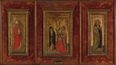 The Crucifixion, Saint Anthony Abbot and Saint Nicholas