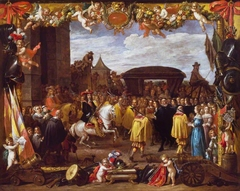 The Entry of Don Juan of Austria into Brussels