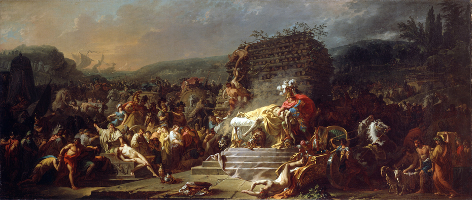 The Funeral Games of Patroclus