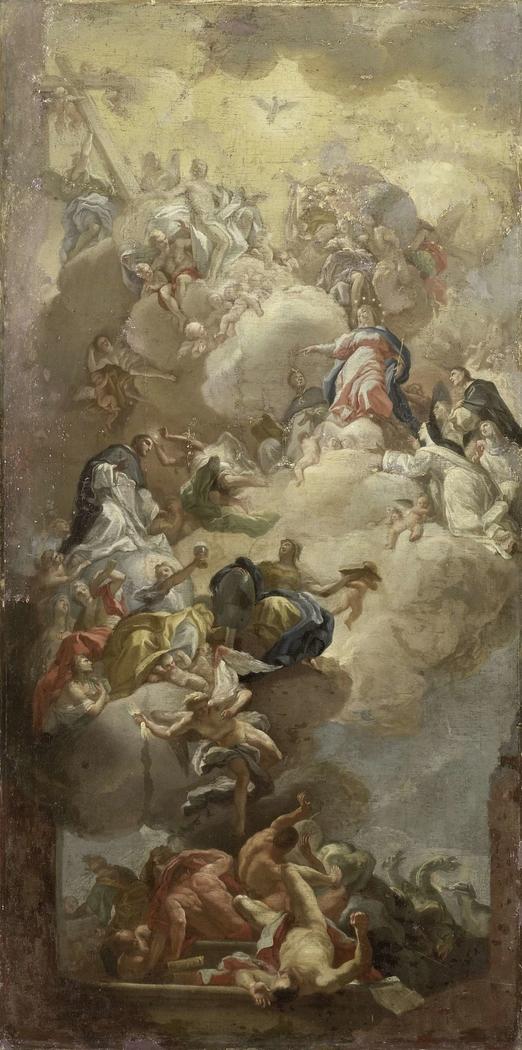 The Glorification of Saint Dominic