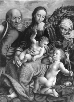 The Holy Family with Saint Elisabeth and the young St. John the Baptist