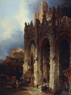 The Porch of St Maclou, Rouen