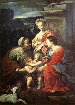 The Virgin and Child with Saint Elizabeth, Saint John the Baptist and Saint Catherine
