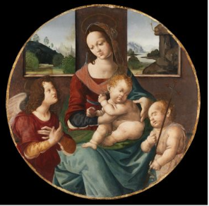 The Virgin and Child with Saint John the Baptist and an Angel
