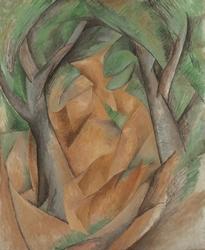 Trees at L'Estaque