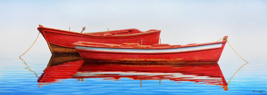 Two Red Boats
