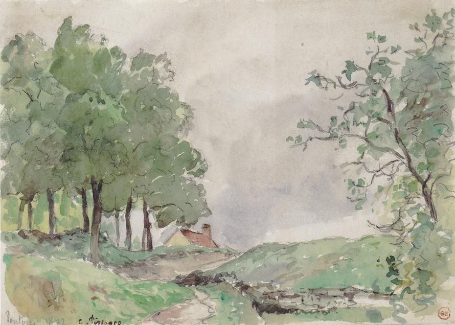Landschaft bei Pontoise