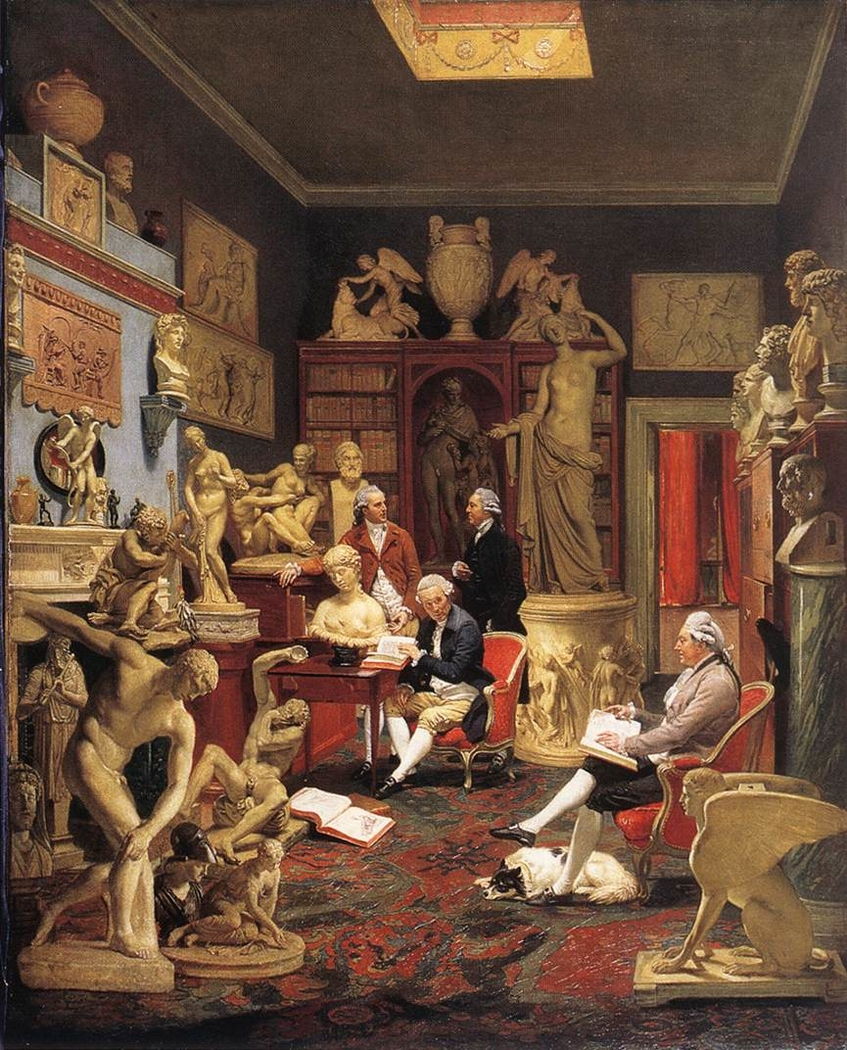 Charles Townley and his Friends in the Towneley Gallery, 33 Park Street, Westminster
