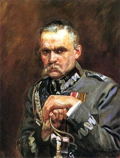 Portrait of Marshal Józef Piłsudski