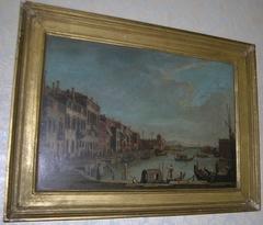 Venice: The Canale di Santa Chiara towards the Lagoon