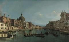 Venice: The Grand Canal with San Simeone Piccolo