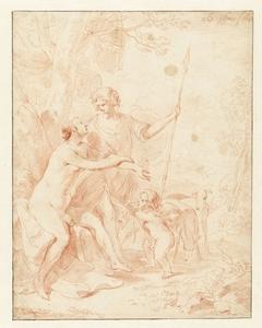 Venus, Adonis en Cupido