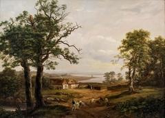 View at Kallehauge, near Vordingborg
