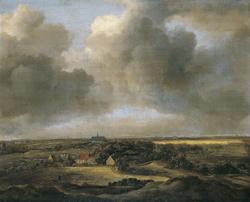 Bleaching Fields at Bloemendaal near Haarlem