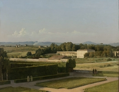 View of the Gardens of Villa Medici