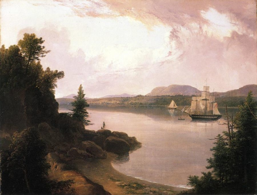 View on the Saint Croix River near Robbinston