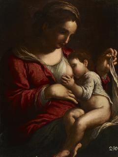 Virgin Mary Nursing