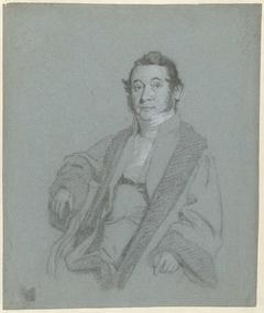 Voorstudie voor het portret van prof. Hendrik Cock