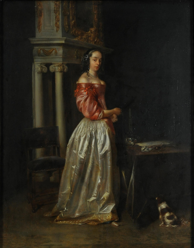 Young Lady in Interior