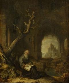 A Hermit in a Ruin