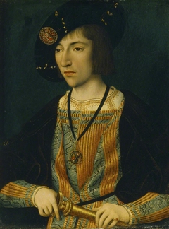 A Young Man wearing the Order of the Annunciation