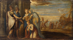 Aeneas Takes Leave of Dido
