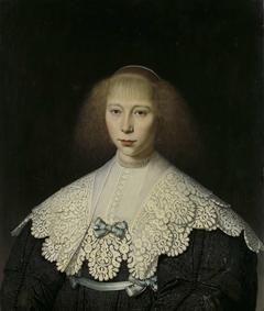 Agatha Geelvinck (1617-38). First wife of Frederik Dircksz Alewijn