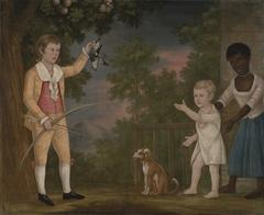 Alexander Spotswood Payne and His Brother John Robert Dandridge Payne, with Their Nurse