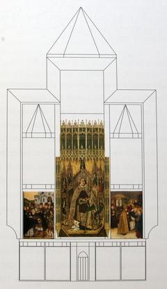 Altarpiece of Santo Domingo de Silos