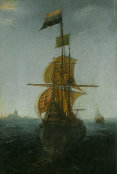 An Amsterdam East Indiaman