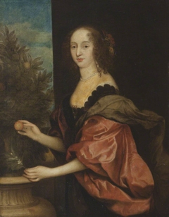An Unknown Lady, formerly known as Mary Hawtrey, Lady Bankes (1598-1661) in the Pose of Dorothy, Countess of Sunderland