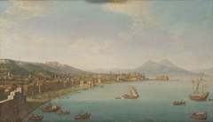 Ansicht von Neapel von Nordwesten