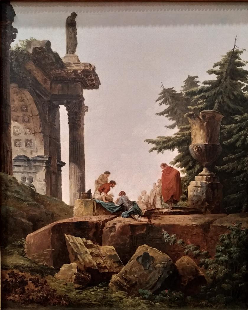Arch of Triumph in Ruins