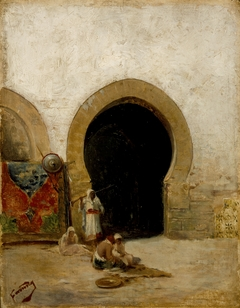 At the Gate of the Seraglio