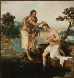 Baptism of Christ (Matthew 3:13-17; Mark 1:9-11; Luke 3:21-22)