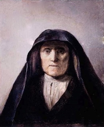 Bust of an old woman (formerly called Rembrandt's mother)