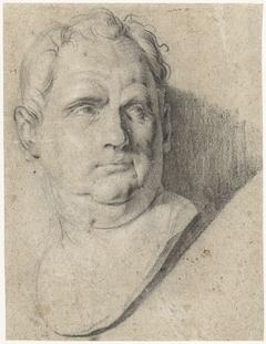 Buste van keizer Vitellius