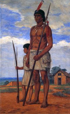 Cacique Tibiriçá e neto