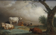 Cattle in a Field