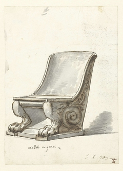 Chair in Villa Negroni