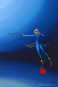 CHASSERESSE DIANE II - Diana the huntress II -  by Pascal