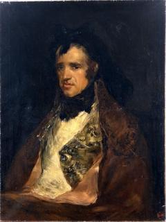 Copy after Goya's Portrait of Pedro Mocarte